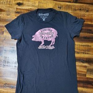 Lynyrd Skynyrd BBQ & Beer Hot Licks Tshirt - Small